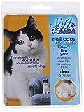 Soft Claws Inc Gatos Suave Garras Gato uñas Caps Claro