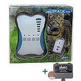 Rastreador de Mascotas Mini Girafus Pro-Track-Tor Localizador con Ondas de Radio Anti-Pérdida Gato, Perro - 2 transmisor + Cargador Incluido