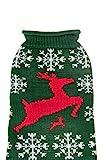 Clever Creations Jersey navideño para Perro, Ideal para Muchas Razas de Cachorros y Gatos, Muchos diseños Atractivos y Festivos, Varios tamaños para 4 Amigos con Patas, Gran Regalo para tu compañero