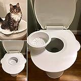 Kitty's Loo - Asiento de Inodoro para Gato