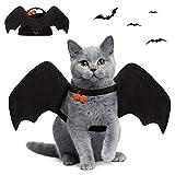 Murciélago Disfraz De Gato,Disfraz De Halloween del Gatos Perros,Disfraz de Gato para Halloween,Disfraz para Perro De Halloween,Disfraces Divertidos de Halloween para Mascotas,Mascota araña Ropa