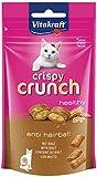 Vitakraft - Crispy Crunch anti hairball con malta, Snacks para Gatos Crujientes. Anti Bolas de Pelo - 60 g