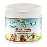 Aceite de coco para los animales -naturalmente, una protección efectiva contra la garrapata, ácaros, parásitos & Fellpflege sin la química