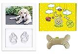 Click & Clay® - Marco para huellas de perro y juegos de perro, accesorios para perros, regalo ideal para cumpleaños, perro y primera Navidad perro