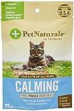 Pet Naturals - Calmante para Gatos, suplemento de Apoyo al Comportamiento, 30 masticables de tamaño de mordida