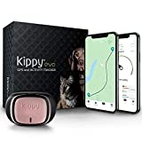 KIPPY - EVO - El Nuevo Collar GPS para Perros y Gatos - Seguimiento de Actividad, 38 gr, Waterproof, Bateria 10 dias, Pink Petal