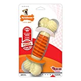 Hueso masticable Doble de la Gama Extreme de Nylabone | Juguete masticable para la higiene Dental de los Perros | Sabor a beicon | Grande | para Perros de hasta 23 kg