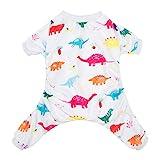 cutebone perro Mono de regalo pijama Dinosaur de Navidad perro ropa perro mascota ropa Onesie pijama