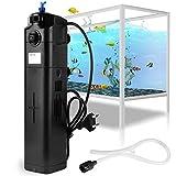 Forever Speed Bomba de filtro UVC JUP-23 de 8 W, esterilizador UV, ajustable, para acuario de 285 L