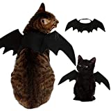 Disfraz de Mascota Perro Gato Alas de murciélago Vestidos S/M/L Tamaño Mascotas Cosplay Batwings Ropa para Mascotas (Pets Cosplay Batwings, Large)