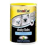 GimCat Tabs Baby Tabs – golosina Funcional con taurina y L-carnitina para Gatos jóvenes a Partir de la 6 Semana – 1 Bote (1 x 85 g)