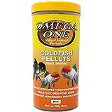 Omega One Goldfish - Pellets pequeños, 236 ml