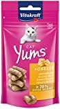 VITAKRAFT Cat YUMS@ Queso gr, 40 g (Paquete de 1)