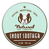 Chupete de hocico – Natural Dog Company | Remedio seco agrietado y crujiente para nariz de perro seca | 2 oz lata