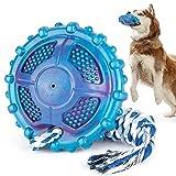 DSHZHM Juguete para Perros, Juguete Interactivo para Perros con Funciones de Masticar y Tira y Afloja, con Cuerda, Apto para Perros Medianos y Grandes