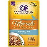 Wellness Saludable Indulgence Natural sin Grano húmedo Cat Food, 3-Ounce Bolsa (Pack de 24)