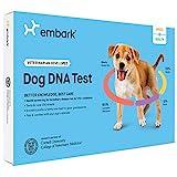 Embark Veterinary ADN Perro de Prueba   La identificación de la Raza   160 Resultados de la Salud   200K marcadores genéticos 1 Paquete Blanco Negro