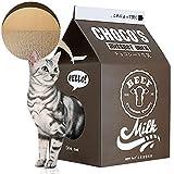 ScratchMe Cartulina del poste del rascador del condominio del gato, cama de la casa del rasguño del gato de la forma de la caja