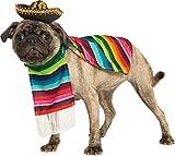 Rubie'S - Disfraz Oficial para Perro, Serape Mexicano, Grande