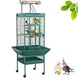 yaheetech mascota jaula de pájaros Play Top Parrot Cockatiel Periquito Finches cacatúa