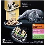 Sheba porciones Cortes en Gravy para entrantes húmedo Cat Food