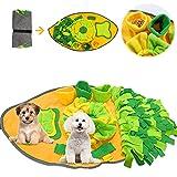 TaimeiMao Alfombra para Perros,Juegos para Perros y Rompecabezas,Estera de Entrenamiento,Juguetes interactivos para Perros,Alfombrilla de alimentación,Olfatear Mascotas,Dog Dog Puzzle (A)