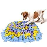 AK KYC Snuffle Mat para Perros Alfombrilla de Entrenamiento Perro Manta Alimentador del Animal Doméstico (Azul púrpura)