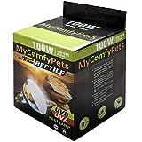 MyComfyPets - Bombilla para Reptiles UVB y UVA 2 en 1 (100 W, para Dragones barbudos y Todos los Reptiles)