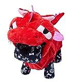 OSPet - Sudadera con Capucha para Perro, diseño de Oso de corazón Rojo cálido para Perro pequeño, Color marrón