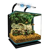 Marineland Contour Glass Acuario Kit with rail Light, 3-Gallon by Marineland