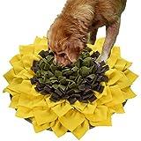 LIVEKEY Snuffle Mat para Perros, Alfombrilla de alimentación para Perros, Juguetes de Rompecabezas para animar Habilidades de forraje Natural para Gatos y Perros