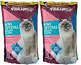 Vibrant Life Anteriormente Mimi Pet Cat Litter Mini Cristales de Gel de sílice, Ultra Absorbente, sin Perfume y Bolsas de 4 Libras Ligeras