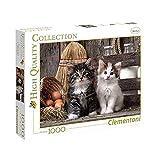 Clementoni 39340, Puzzle 1000 piezas, Gatos