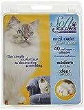 Soft Claws Inc Gatos Garras Suave Tapas uñas Med Claro