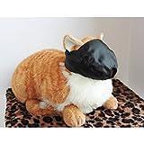 Downtown Pet Supply Cat Bozal–Talla Mediana para Gatos 6–12kg–Negro, por el Centro de Suministro de Centro de Mascota