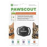 Pawscout – La etiqueta más inteligente para mascotas – Rastreador de mascotas al aire libre para gatos – Bluetooth habilitado – Tamaño de un dólar de plata – Correa para mascotas virtual al aire libre – hace que el seguimiento de su mascota sea sencillo – sin cuotas mensuales