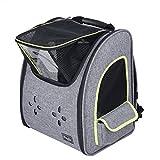 Petsfit Mochila cómoda para Perros, Bolsa de Tela para Mascotas con Buena ventilación.