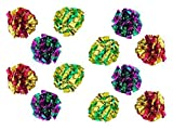 PETFAVORITES ™ Original Mylar Crinkle Bolas Gato Juguetes–12Unidades