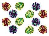 PetFavorites  Original Mylar Crinkle Bolas Gato Juguetes–12Unidades