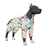 LovinPet - Camisa Grande para Perro, Grande, de algodón, para Perros Labrador Doberman Boxer (Lee descripción)