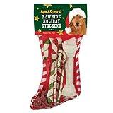 Ranch recompensas Rawhide Holiday calcetín de Perro