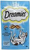 Dreamies -Golosinas para gatos, sabor: Salmone, 60 g (Pack of 8)