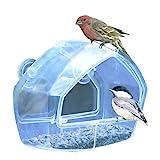 Perky-Pet 348 Comedero para Ventana montado para Aves Silvestres.