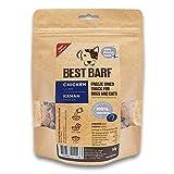 BEST BARF Golosinas liofilizadas para perros Hígado de pollo 100% de un solo ingrediente Golosinas naturales para perros | Golosinas de adiestramiento sin grano para perros y gatos