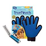 True touch - Guante para Quitar Pelo y asear Mascotas
