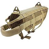 Ultrafun - Arnés táctico de Entrenamiento Militar con asa para Mascotas al Aire Libre
