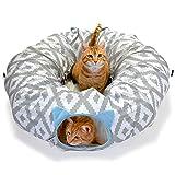 Kitty City Cama Grande para Gato, Cubo apilable, casa para Gatos/condominio para Gatos
