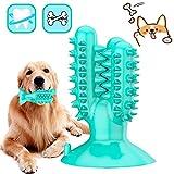 Cepillo De Dientes para Perros,Cepillos de Dientes Caninos,Limpiador de Dientes de Perro,Juguetes para Masticar Dental para Perros Limpieza-Perro Cuidado bucal Dental(Azul)