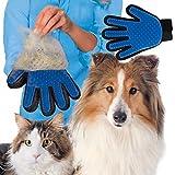 Cepillo de deshedding para mascotas, removedor de pelo, cepillo de aseo para mascotas, herramienta de eliminación de pelo, guante para mascotas, para mascotas, para mascotas, para peluquería, gato o gato, cepillo de goma para mascotas, herramienta de deshedding para mascotas