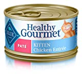 Azul Buffalo Saludable Gourmet Pate húmedo Cat Food